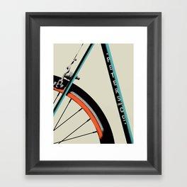 Bike Portrait 1 Framed Art Print