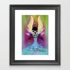 Hidden Personalities Framed Art Print