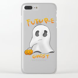 We are all future ghosts Clear iPhone Case