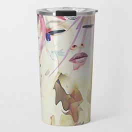 Path - Abstract Portrait Travel Mug