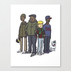 A Tribe Called Jonny Quest Canvas Print