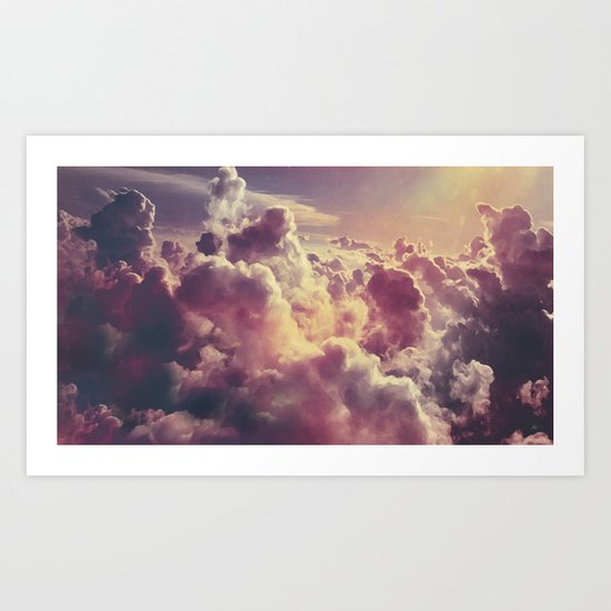 Clouds1 Art Print