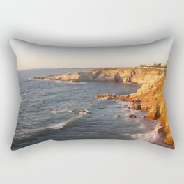 Sicily sunset Rectangular Pillow