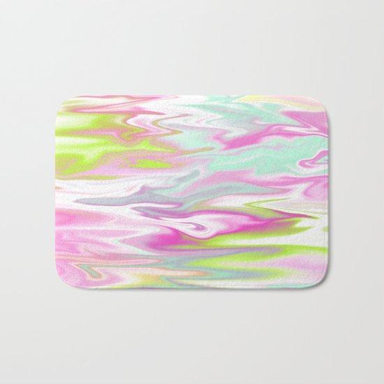 Iridescent Marble 09 Bath Mat