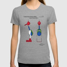 Drinking Bird Patent T-shirt