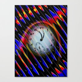 Abstract - Perfection- Time is running Canvas Print