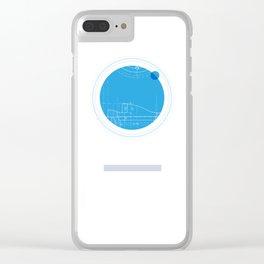 Neptune I Clear iPhone Case