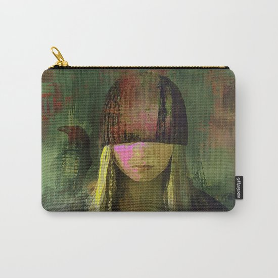 Queen crow Carry-All Pouch