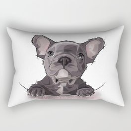 Je suis Frenchie Rectangular Pillow
