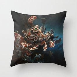 Rhinopias Throw Pillow
