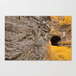 Paw Paw Tunnel - Golden Age Nostalgia Canvas Print