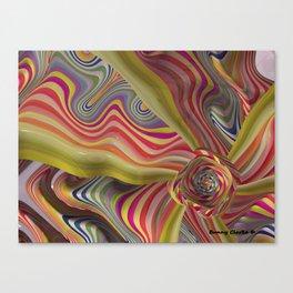Scrunchy Canvas Print