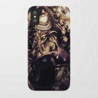 hindu iPhone & iPod Cases featuring Ganesha - Hindu Diety by Dre' Vanhorn