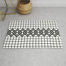 Links on a grid Rug