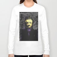 edgar allan poe Long Sleeve T-shirts featuring Edgar Allan Poe by brett66