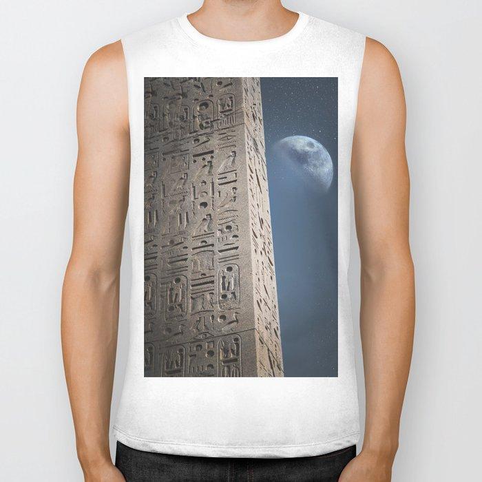 Egyptian Moon Biker Tank