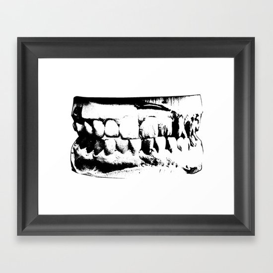 Wicked Smile Framed Art Print