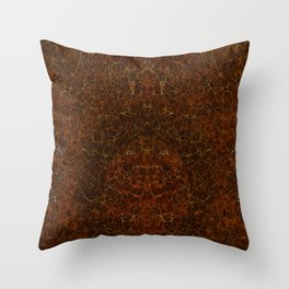 Azteca - Ancient Mexican Pattern II Throw Pillow