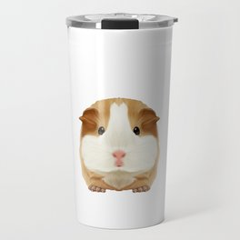 Guinea Pig Dad Daddy Father Rodent Wheek Gift Idea Travel Mug