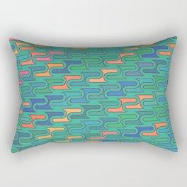 Ocean Swirls Rectangular Pillow