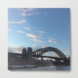 Sydney Australia harbour bridge Metal Print
