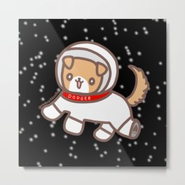 Space Dodger Metal Print