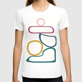 Colorful Flow IV T-shirt