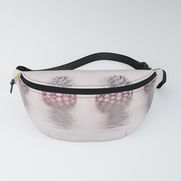 Pink Pineapple In The Water Fanny Pack