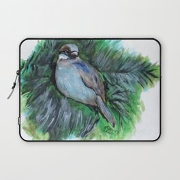 New York Winte Sparrow Laptop Sleeve