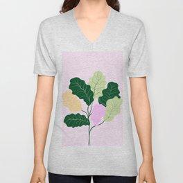 fiddle leaf fig Unisex V-Neck