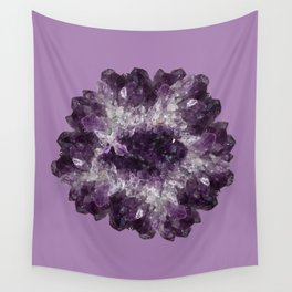 Amethyst Asteroid Wall Tapestry