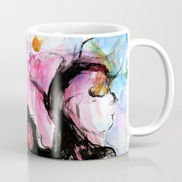 The Enigma of a Fish's Dream Coffee Mug