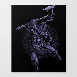 Viking Norse Warrior Canvas Print