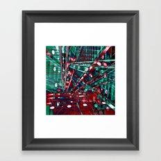 Urban Lines of Berlin Framed Art Print