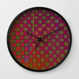 Manual Grid Fall Digital Wall Clock