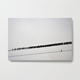 Don't Be Afraid To Be Different Metal Print