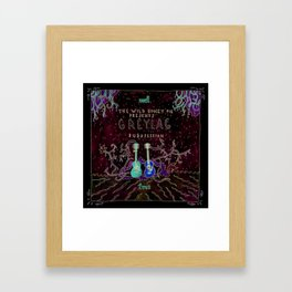 Greylag Buzzsession Cover Art Framed Art Print