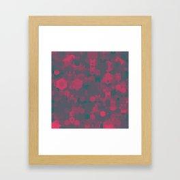 Hexa-Proto-Neon Framed Art Print