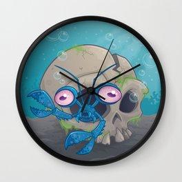 Eye Crustacea Wall Clock