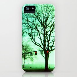 Green Fog iPhone Case