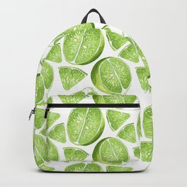 Juicy Lime with vitamin C Backpack