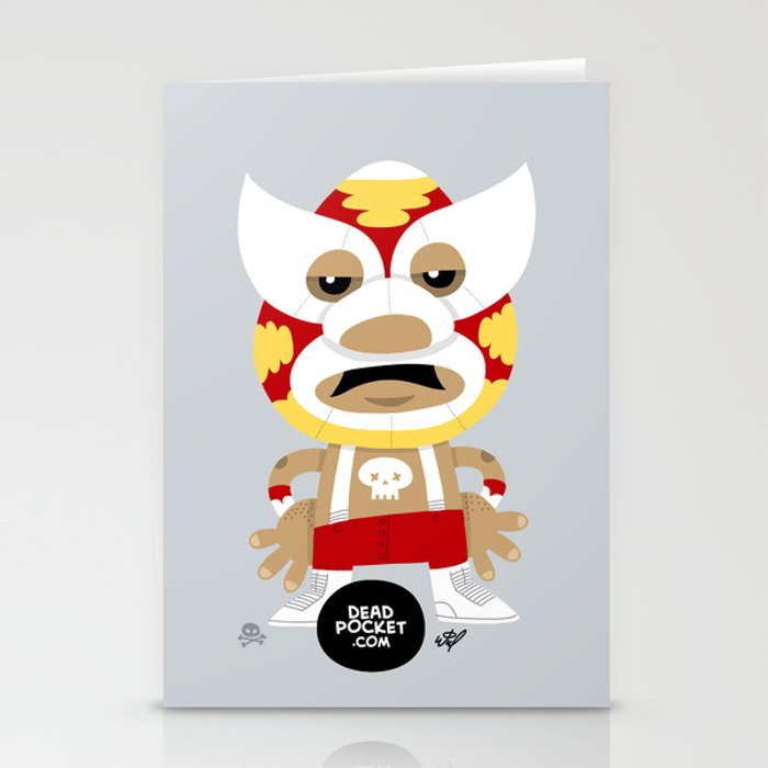 Let's Rassle Stationery Cards