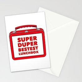 Super Duper Bestest Lunchbox Stationery Cards