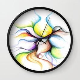 My Dancer's Embrace Wall Clock