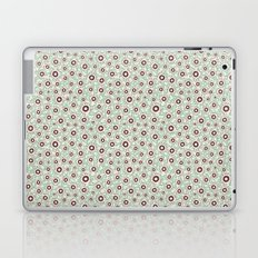 Summertime wallflowers pattern Laptop & iPad Skin