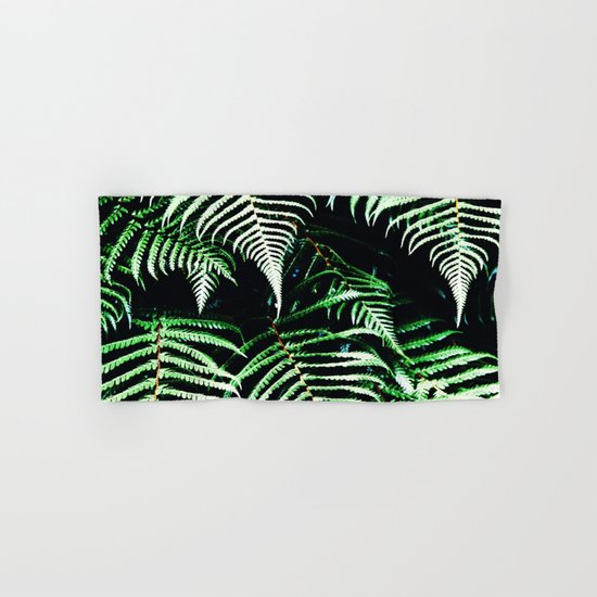 Entranced Ferns #society6 #prints #decor #home Hand & Bath Towel