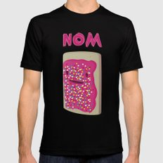 Nom MEDIUM Black Mens Fitted Tee