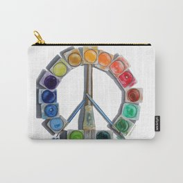 Peace Paint Palette Carry-All Pouch
