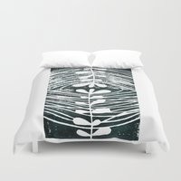 mirror Duvet Covers featuring mirror by Valeria Kondor