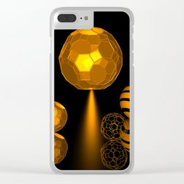 icosahedron -2- Clear iPhone Case